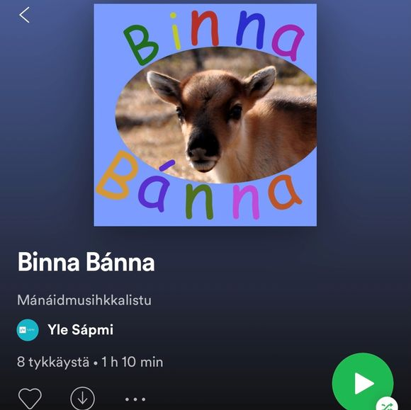 Binna Bánna -musihkkalistu
