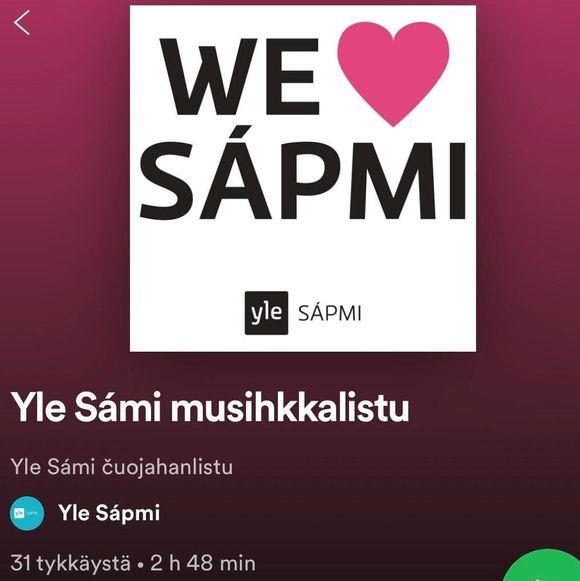 Yle Sámi musihkkalistu
