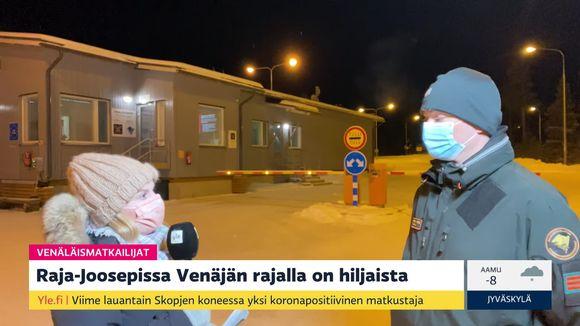 Video: Doaimmaheaddji Linda Tammela ja Lappi rádjegozáhusa vuorrohoavda Ville Katila Rádje-Jovssaha rádjerasttildanbáikkis