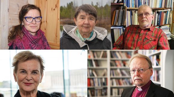 Hannele Pokka, Kari Mäkinen, Heikki J. Hyvärinen, Irja Jefremoff ja Miina Seurujärvi