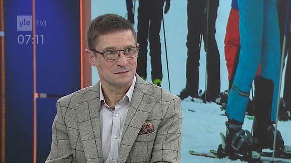 Video: Juha-Pekka Olkkola studiovieraana Ylen aamussa.