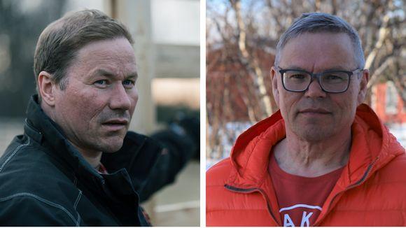 Osmo Seurujärvi ja Ilmari Tapiola