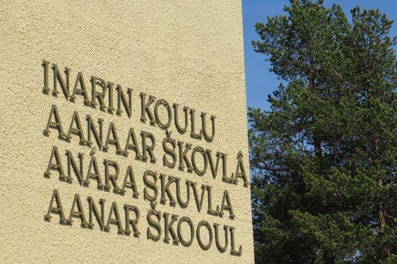 Inarin koulun neljällä kielellä