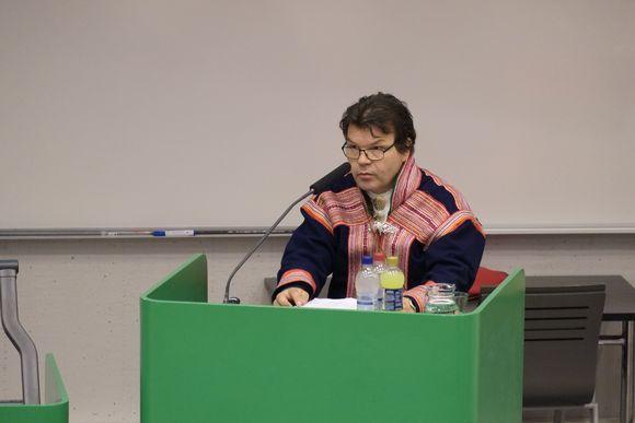 Klemetti Näkkäläjärvi nákkosdilálašvuođas 13.9.2013.