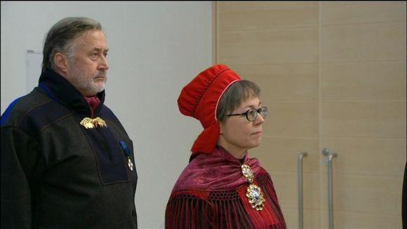 Pekka Sammallahti ja Inga Guttorm.