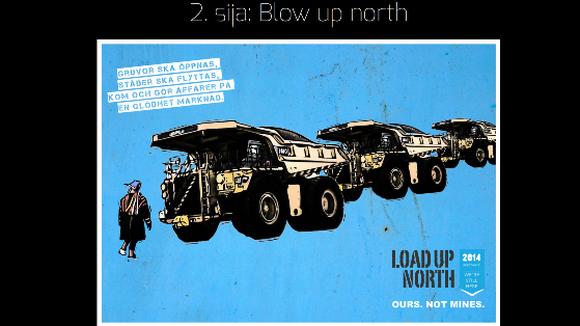 Suohpanterror Blow up North