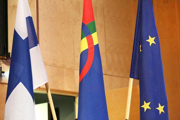 Suoma, Sámi ja Eurohpa Uniovnna leavggat