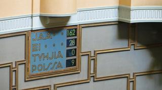 Eduskunnan täysistunto äänesti saamelaiskäräjälain uudistamista vastaan