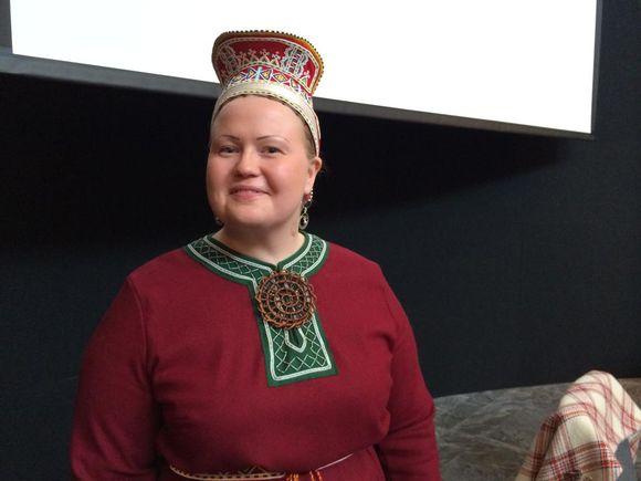 Tiina Sanila-Aikio válljema maŋŋá 28.3.2015
