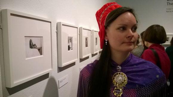 Inka Musta Helssegis gáktebeaivve 2015.