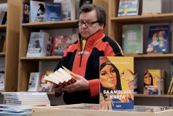 Veli-Pekka Lehtola girji Saamelaiskiista.