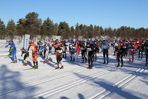 Saami Ski Race