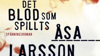 Åsa Larssona girji Det blod som spillts.