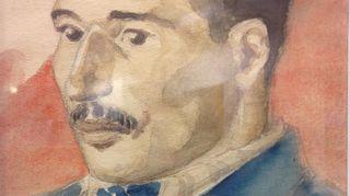 Toivo Salervo málen akvareallas lea Pedar Jalvi