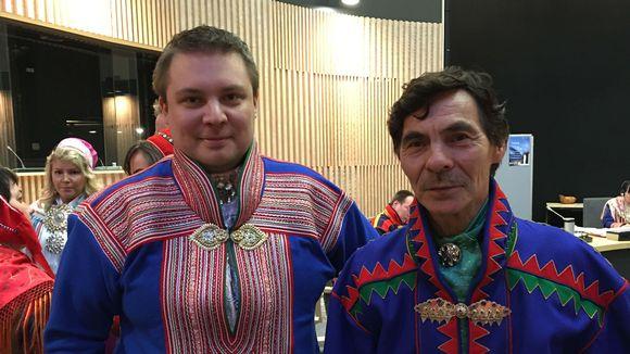 Várreságadoallit Heikki Paltto (olg.) ja Tuomas Aslak Juuso (gur.)