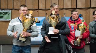 Taneli Paso, Esko Ahola ja Uula-Petteri Somby.