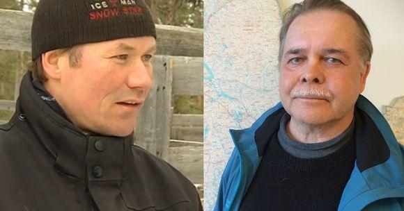 Osmo Seurujärvi ja Pertti Heikkuri