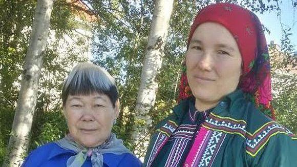 Agrafena Sopochina ja Maria Launonen