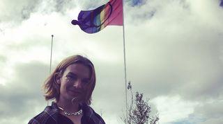 Dávvet Bruun-Solbakk, Sápmi Pride 2016