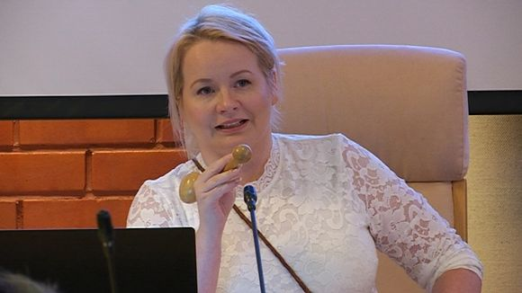 Tanja Sanila kolttien luottamusmies