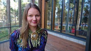 Anniina Turunen Sámi oahpahusguovddážis