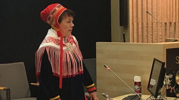 Gáppe Piera Jovnna Ulla/ Ulla Aikio-Puoskari.