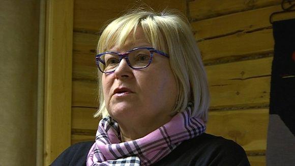 Ohcejoga gieldda gielddahoavda Vuokko Tieva-Niittyvuopio.