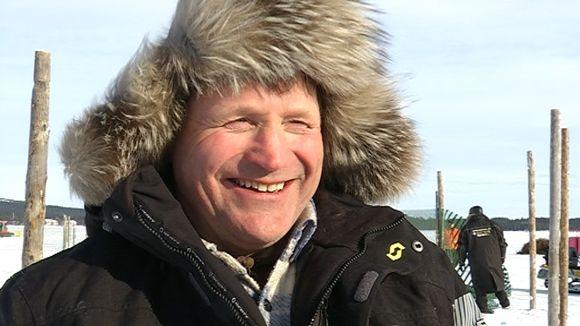 Anára heargegonagasgilvvuid jođiheaddji Juha Mikkola.