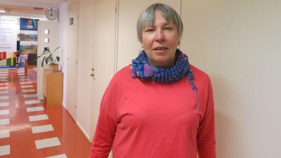 Annikki Kallioniemi Enontekiön kunnan sosiaalijohtaja