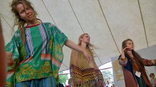 Kaustisten kansanmusiikkifestivaalilla heinäkuussa 2017