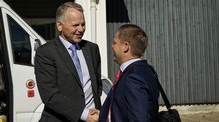 Jari Leppä ja Markus Lohi