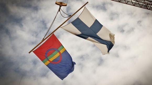 Saamen- ja suomenliput