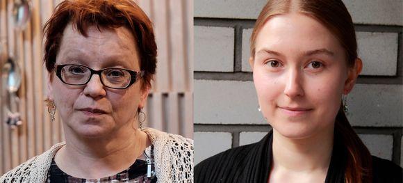 Lydia Heikkilä ja Tuuli Miettunen