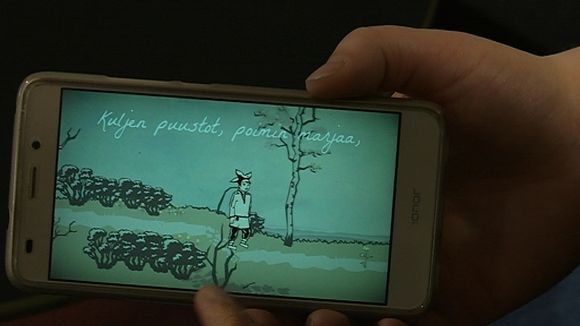 Pedar Jalvin tuotantoa on siirretty mobiilipelin demoon.