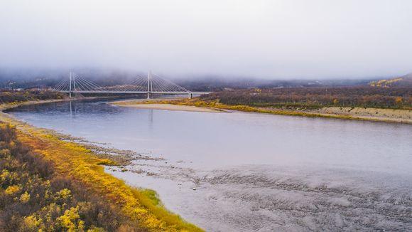 Teno Saamen silta Utsjoki