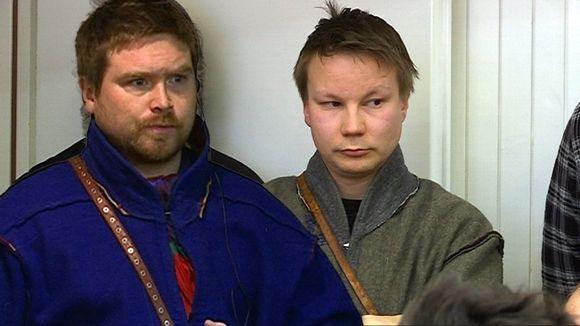 Beaska Niillas ja Niillas Holmberg