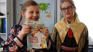 """Pihla Kuuva já Emma Saari muštâlává """"Reiluin koulu"""" -kištoost"""