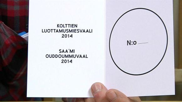 Kolttien luottamusmiesvaalit 2014