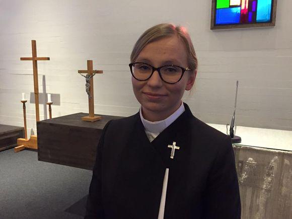 Mari Valjakka saamelaispappi Inarin seurakunta