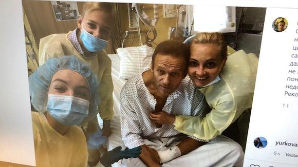 Mies sairaalassa