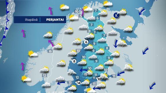 Suomen sääkartta