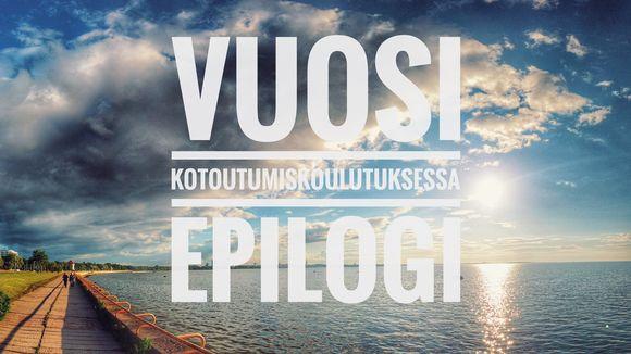 Kuva Luksian videoblogisarjan lopetusjaksosta.
