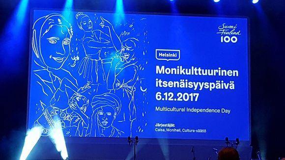 Finlandia-talon juhlasali.