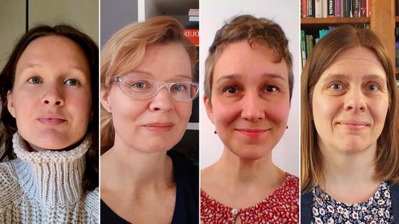 Neljän naisen kuvat.