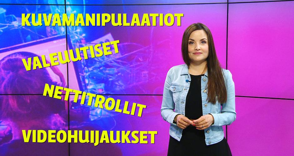 Kuvassa toimittaja Kreeta-Maria Kivioja.