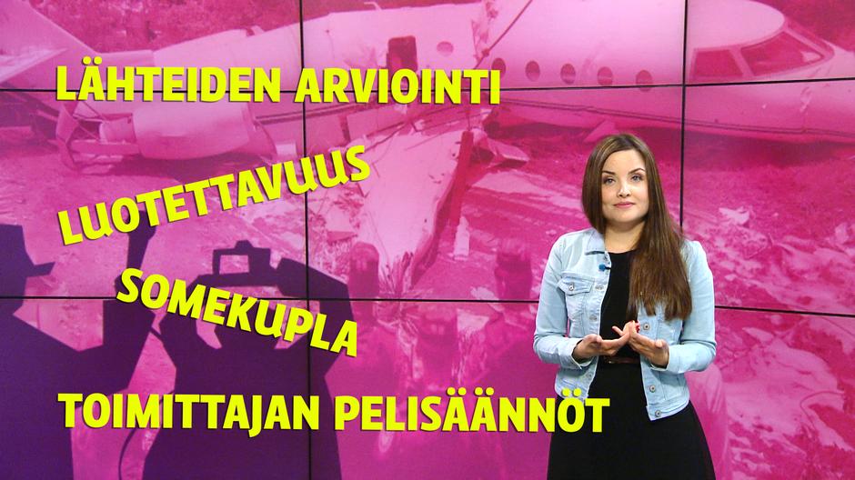 Video: Kuvassa toimittaja Kreeta-Maria Kivioja.