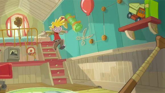 Kuva Rovion Amazing Alex -pelistä.