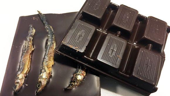 Taiga-suklaan kalasuklaa