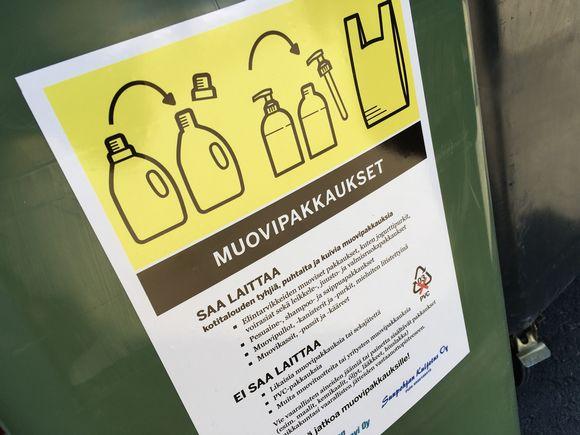 kierrätysohjeet