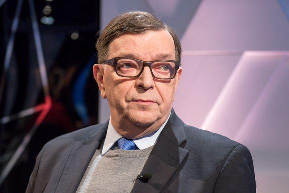 Paavo Väyrynen suuressa vaalikeskustelussa. Suuri Vaalikeskustelu 25.01.2018, TV1. Paavo Väyrynen
